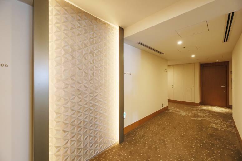 14階の共用廊下