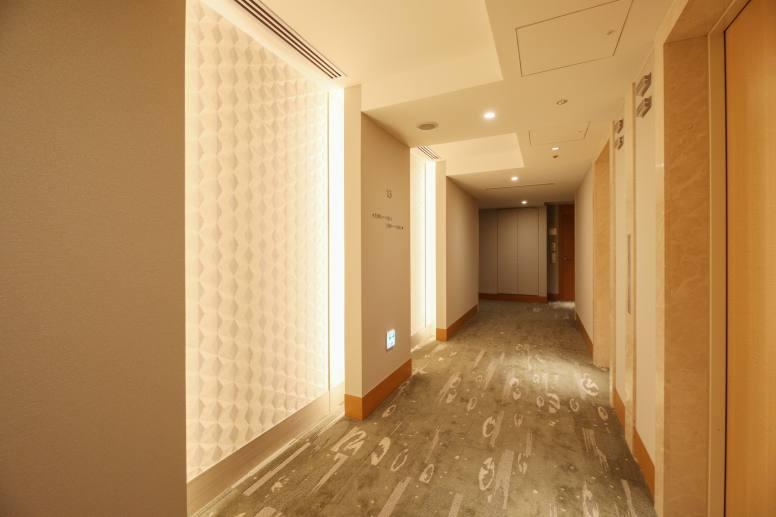 13階の共用廊下