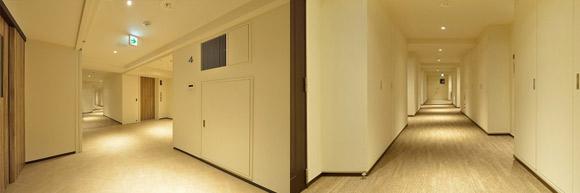六本木ビュータワー リノベーション 共用廊下AFTER